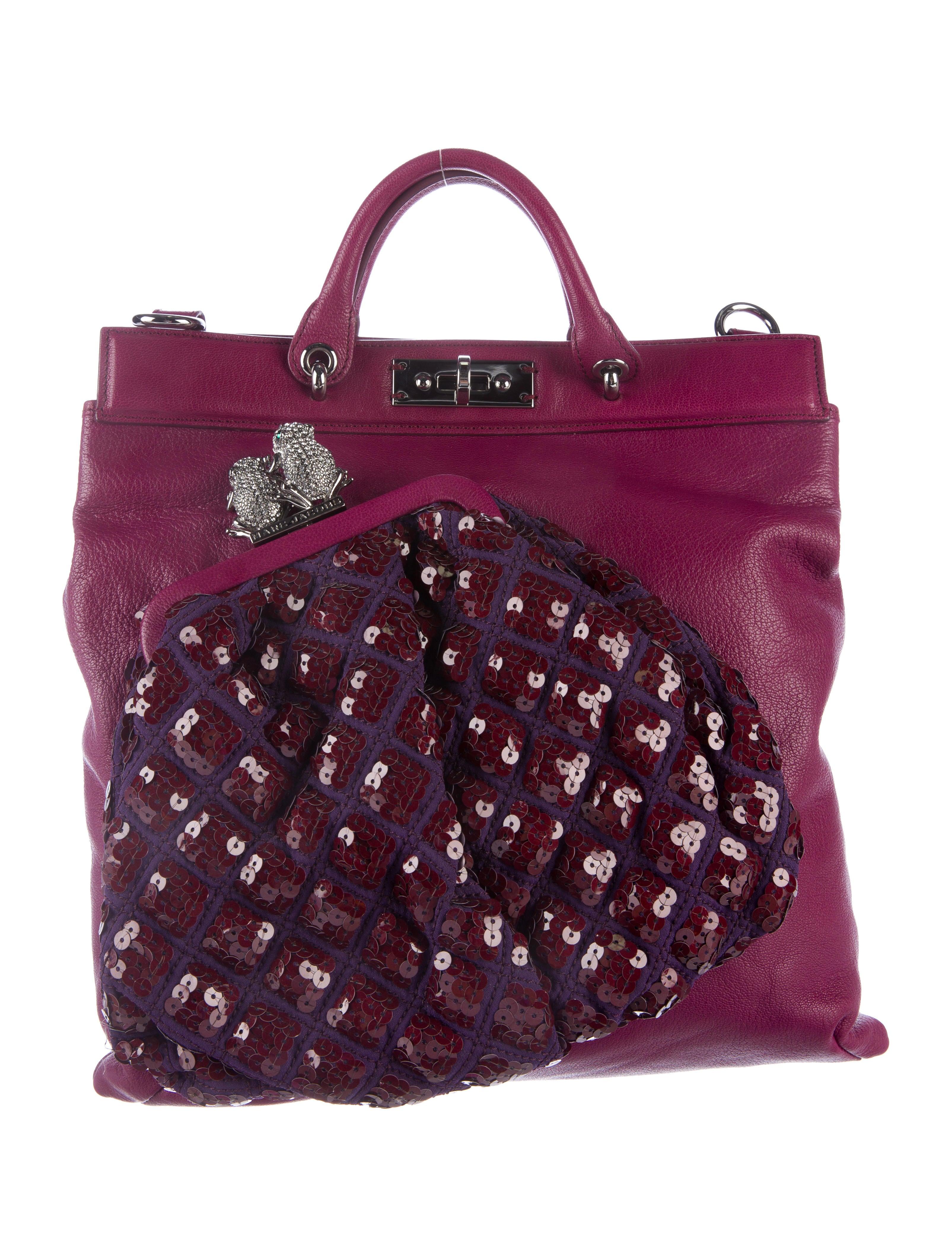 d883c64d1eaa Marc Jacobs Leather Robert Duffy Tote - Handbags - MAR44698