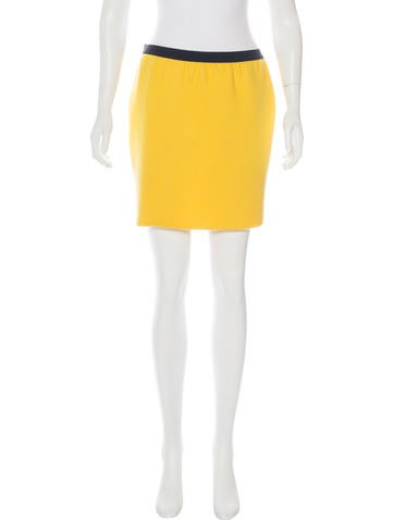 Marc Jacobs Cashmere & Silk-Blend Skirt None