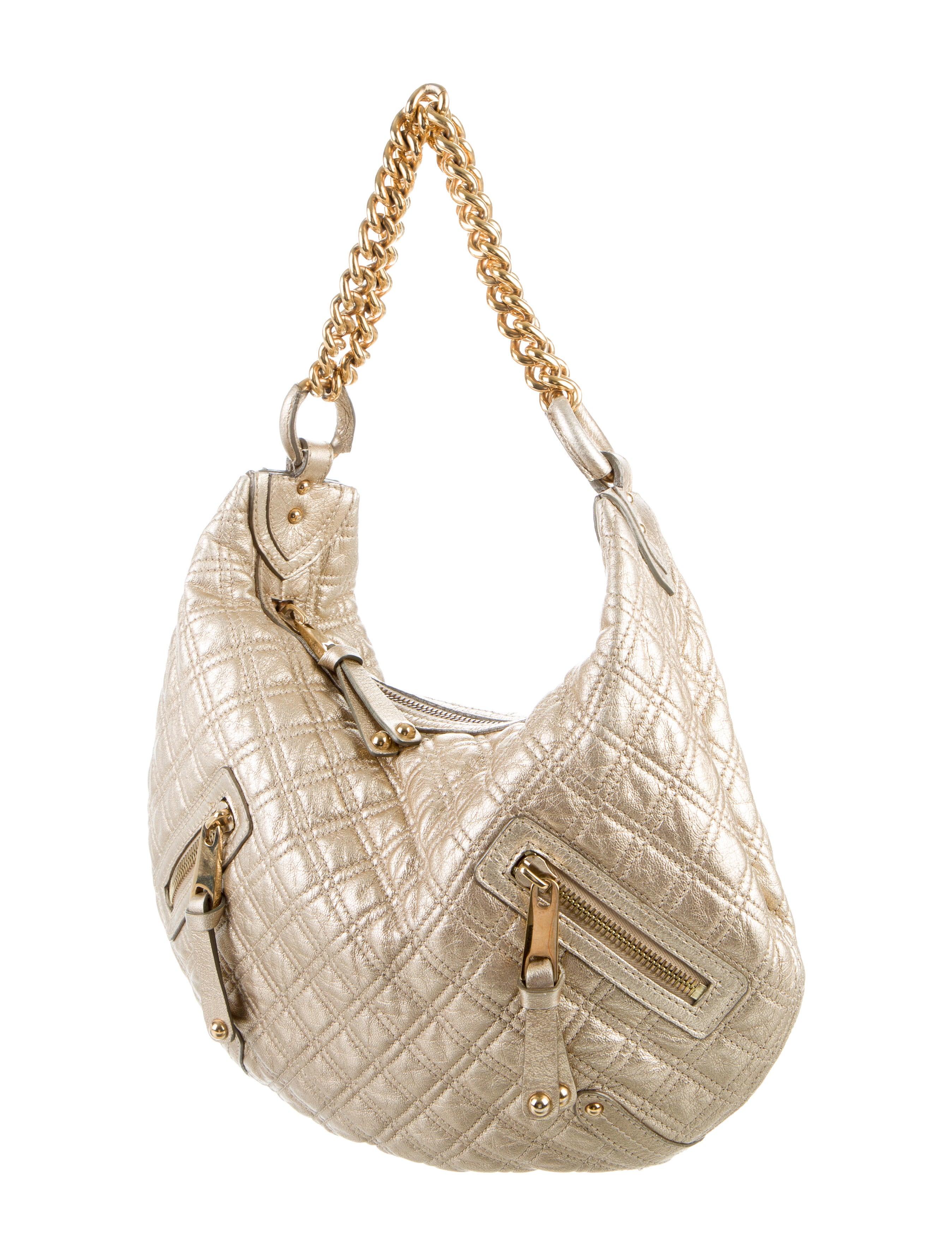 marc jacobs hobo banana bag handbags mar45182 the realreal. Black Bedroom Furniture Sets. Home Design Ideas
