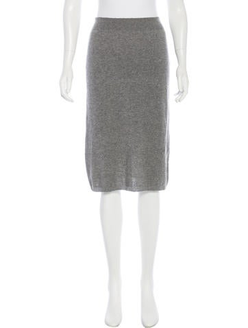 Marc Jacobs Knit Knee-Length Skirt None