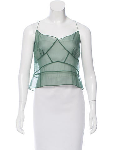 Marc Jacobs Silk Sheer Top w/ Tags None