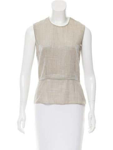Marc Jacobs Embellished Wool Top None
