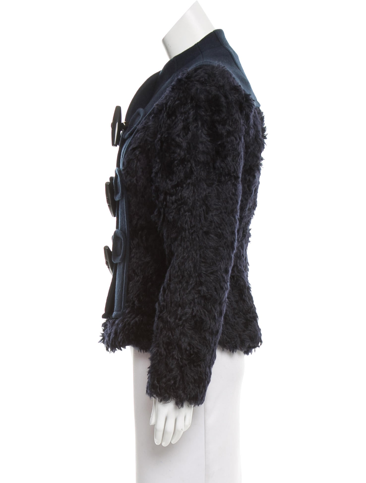marc jacobs faux fur jacket w tags clothing mar45692. Black Bedroom Furniture Sets. Home Design Ideas