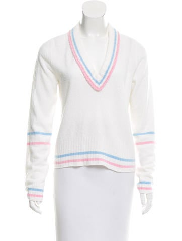 Marc Jacobs V-Neck Cashmere Sweater w/ Tags None
