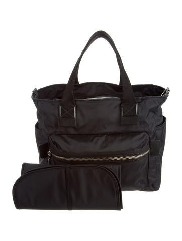 marc jacobs nylon diaper bag handbags mar45899 the realreal. Black Bedroom Furniture Sets. Home Design Ideas
