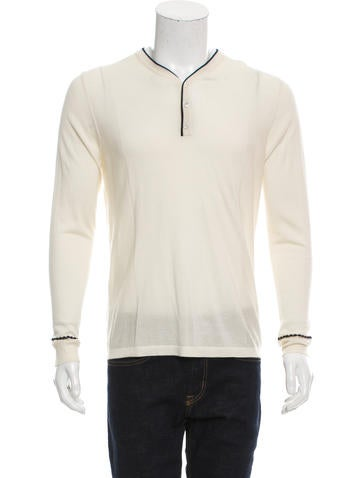 Marc Jacobs Cashmere Henley Sweater w/ Tags None