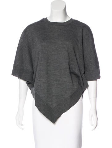 Marc Jacobs Wool Knit Poncho None