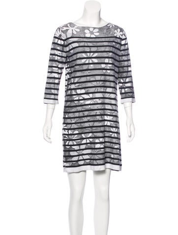 Marc Jacobs Printed Knit Dress None