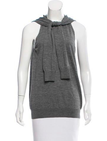 Marc Jacobs Sleeveless Wool Top w/ Tags None