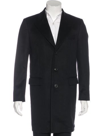Marc Jacobs Cashmere & Wool Overcoat None