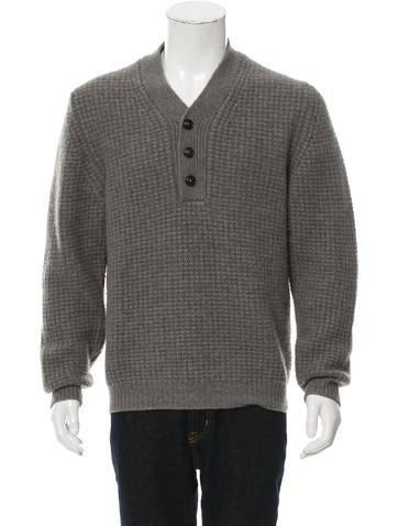 Marc Jacobs Cashmere V-Neck Sweater None