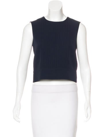 Marc Jacobs Open Back Crop Top None