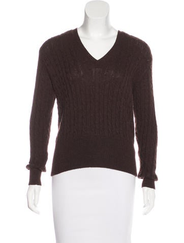 Marc Jacobs Cashmere-Blend Cable Knit Sweater None