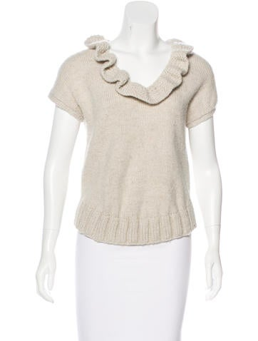 Marc Jacobs Wool Knit Top None