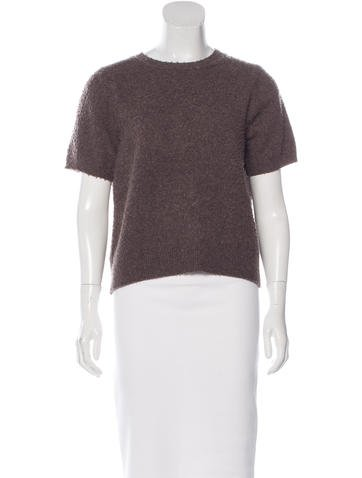 Marc Jacobs Wool & Cashmere-Blend Sweater None