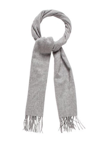 Marc Jacobs Cashmere Fringe Scarf None
