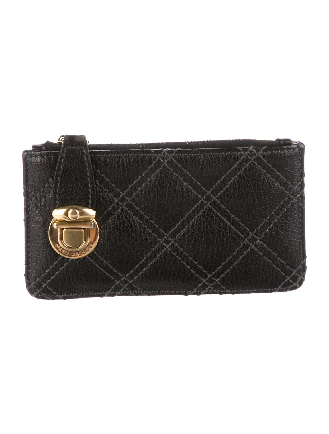Marc Jacobs Quilted Key Pouch - Accessories - MAR48555 | The RealReal : marc jacobs quilted wallet - Adamdwight.com