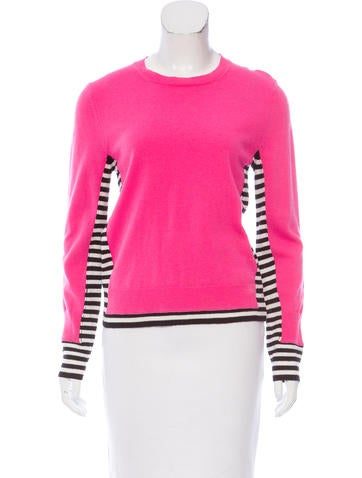 Marc Jacobs Crew Neck Long Sleeve Sweater None