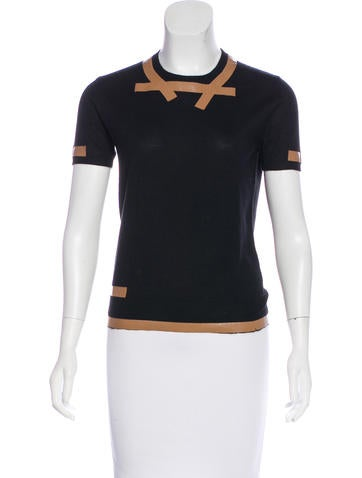 Marc Jacobs Cashmere and Silk-Blend Top None