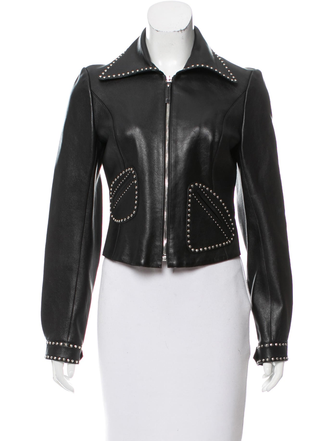 Marc jacobs leather jacket