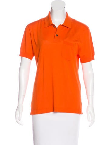 Marc Jacobs Cashmere Polo Top None
