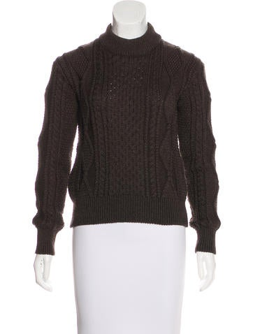 Marc Jacobs Wool Long Sleeve Sweater None
