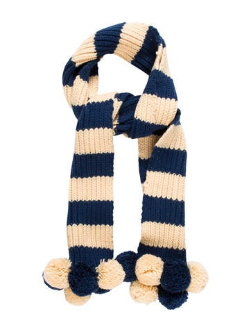 Marc Jacobs Wool Pom-Pom Scarf None