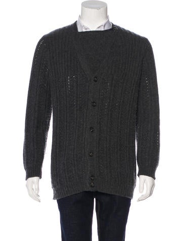 Marc Jacobs Cashmere V-Neck Cardigan None
