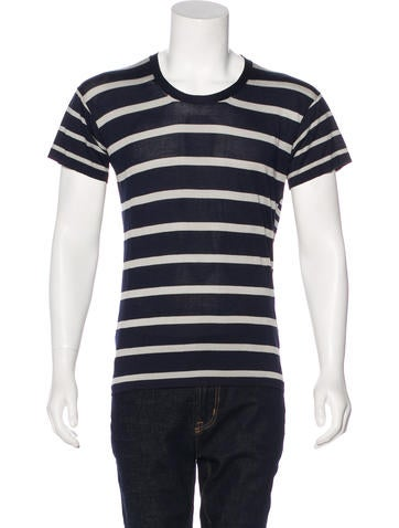 Marc Jacobs Striped T-Shirt None