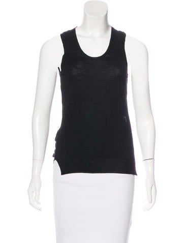 Marc Jacobs Virgin Wool-Blend Top None