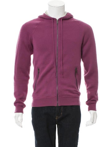 Marc Jacobs Cashmere-Blend Zip-Up Sweater None