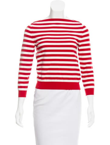 Marc Jacobs Striped Knit Top None