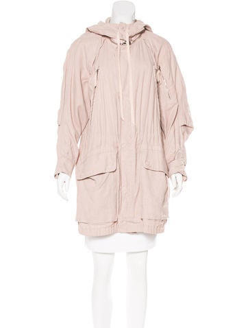 Marc Jacobs Hooded Short Coat None