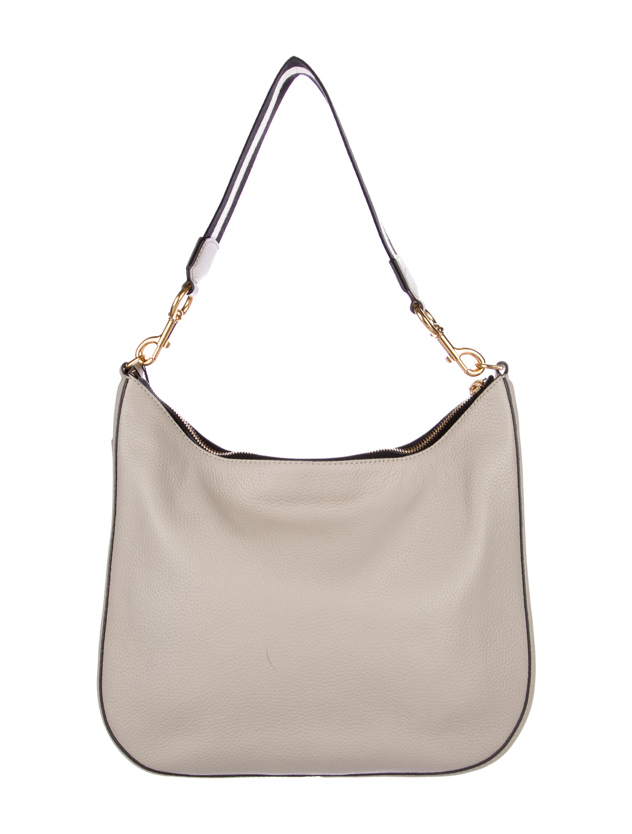 Marc by Marc Jacobs Leather Hobo Handbags MAR49651  : MAR496514enlarged from www.therealreal.com size 2036 x 2685 jpeg 234kB