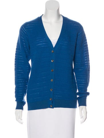 Marc Jacobs Cashmere Button-Up Cardigan None