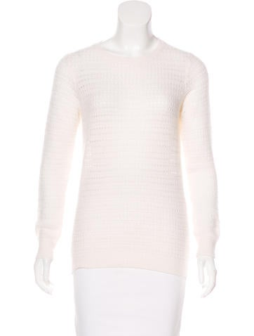 Marc Jacobs Open Knit Cashmere Sweater None