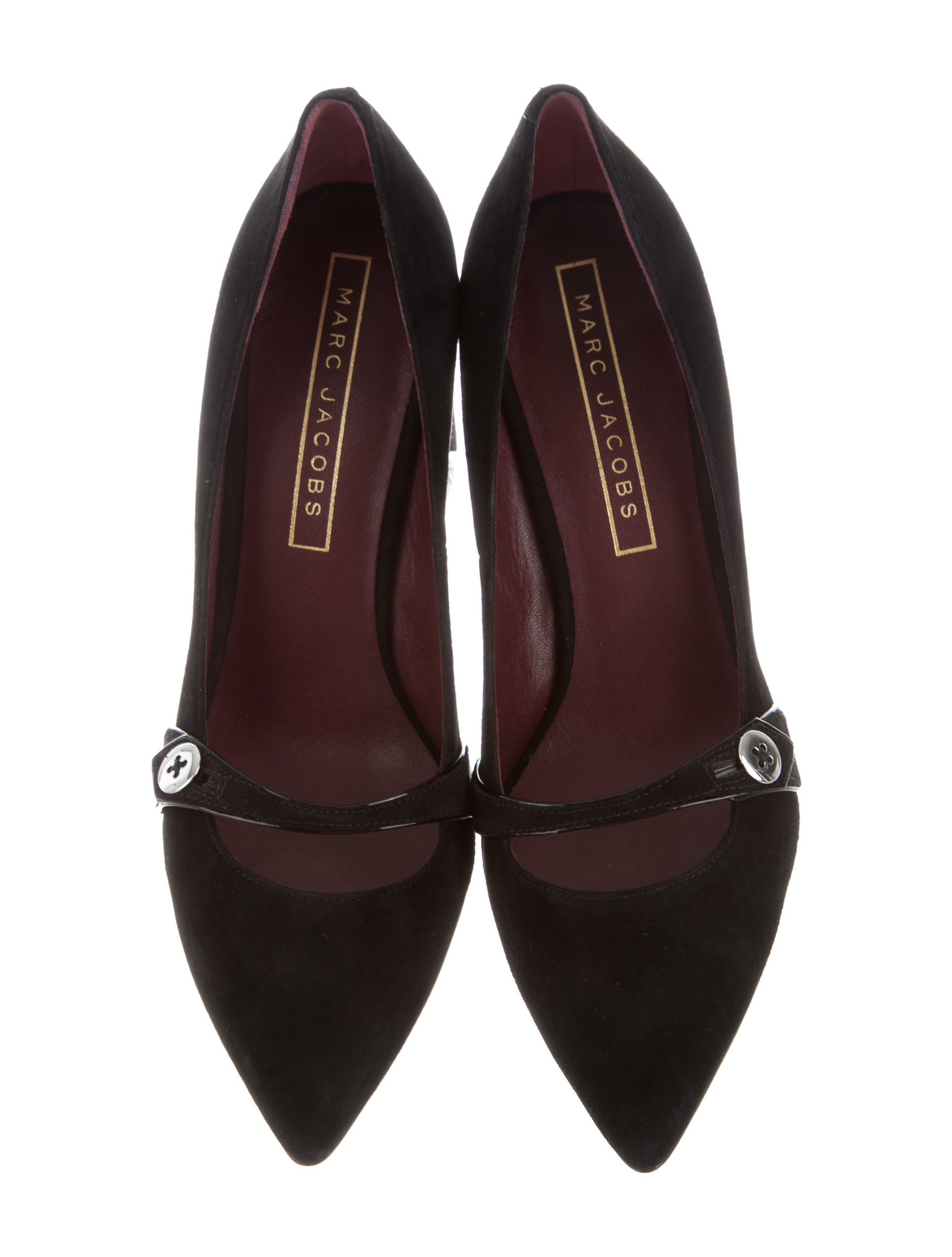Marc Jacobs Marc Jacobs Pointed-Toe Suede Pumps w/ Tags discount professional Y3SVN