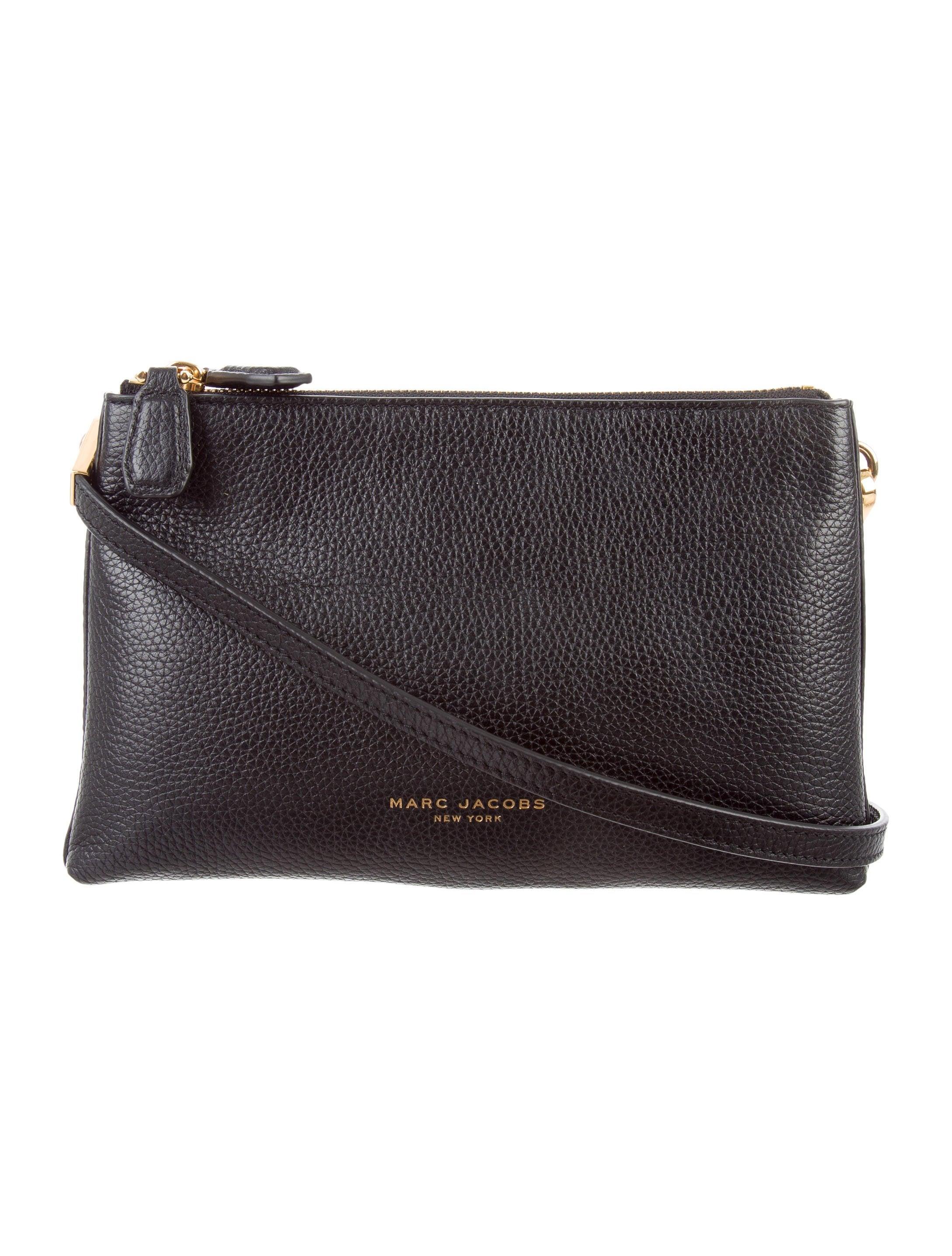 bdb579fc720 Marc Jacobs Pike Place Double Percy Crossbody Bag - Handbags - MAR50800 |  The RealReal