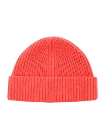 Marc Jacobs Cashmere Rib Knit Beanie None