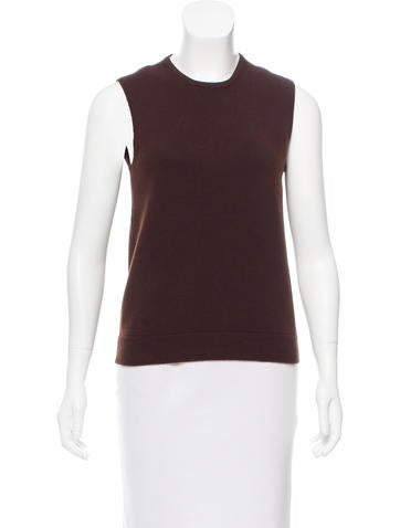 Marc Jacobs Cashmere Sleeveless Sweater None