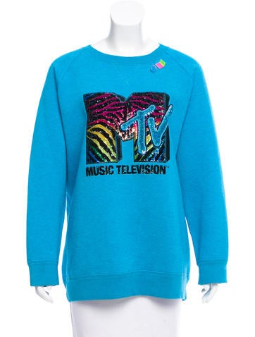Marc Jacobs Wool-Blend MTV Sweater None