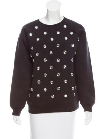 Marc Jacobs Wool-Blend Sweatshirt None