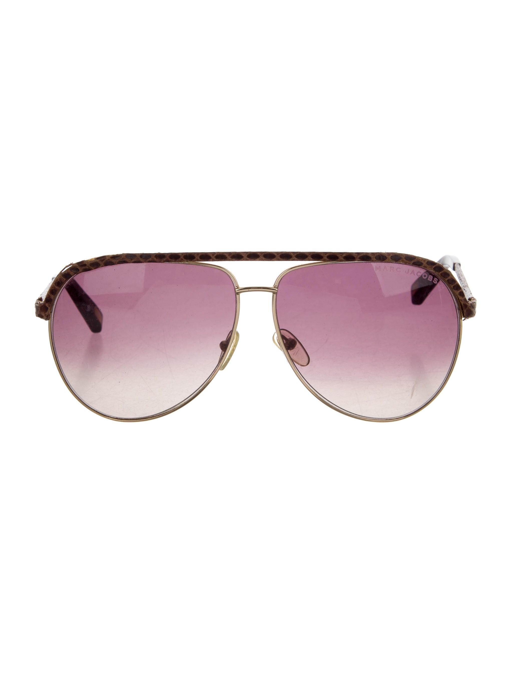 9e8163b091 Marc Jacobs Oversize Aviator Sunglasses - Accessories - MAR51462 ...