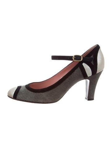 clearance under $60 Rossimoda Satin Ankle Strap Pumps sale online store My8i9
