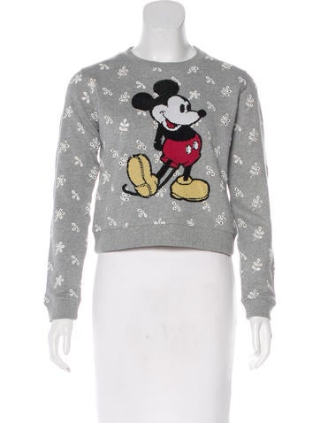 Marc Jacobs Embellished Crew Neck Sweatshirt None