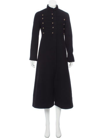 Marc Jacobs Cashmere Military Coat None