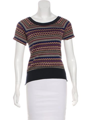 Marc Jacobs Open Back Knit Top None