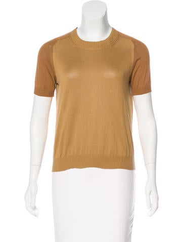 Marc Jacobs Knit Embellished Top None