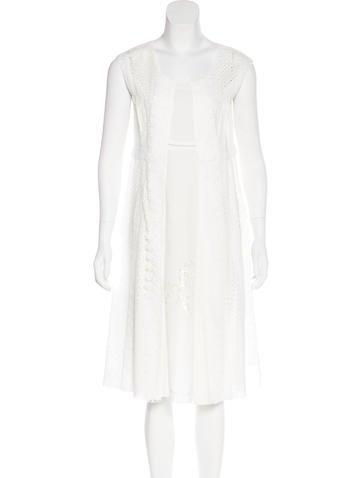 Marc Jacobs Sleeveless Midi Dress None