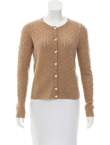 Marc Jacobs Cashmere Knit Cardigan None